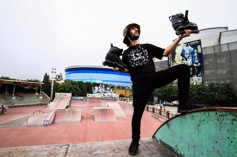 Zahir Hanaizi Trigger Skate Amateur Team Rider