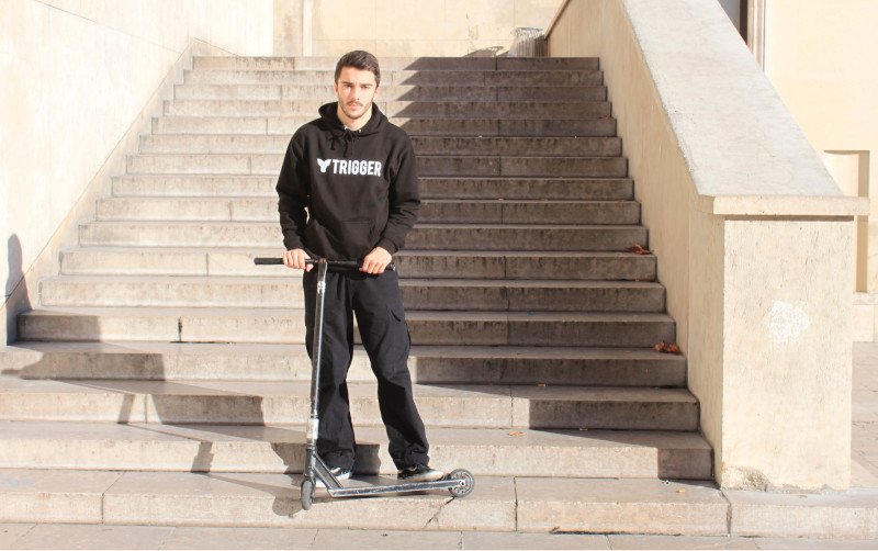 Maxime Plaa Trigger Scooter Pro Team Rider