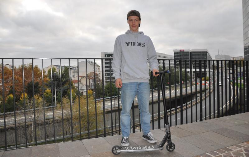 Nicolas De Tuoni Trigger Scooter Team Rider